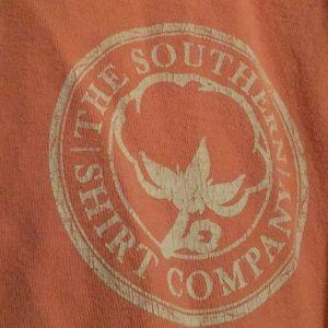 Coral pink southern shirt company tank!